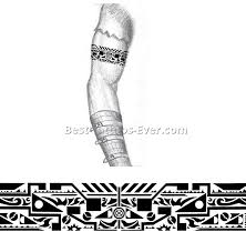 collection of 25 tribal armband designs