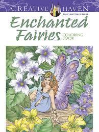 enchanted fairies coloring book adults u2013 gogetglam