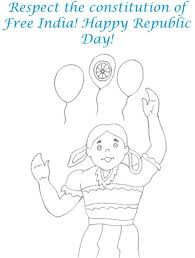 with balloon coloring page for kids