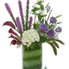 How To Arrange Flowers In A Tall Vase Saint Louis Florist Flower Delivery By Always In Bloom