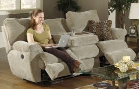 Recliner Sofa Cover by Dual Reclining Sofa Slipcover 62 With Dual Reclining Sofa