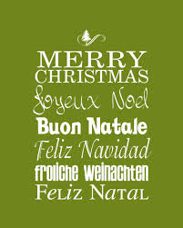 merry christmas around the world many colors printables
