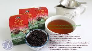 Teh Merah produk teh oolong merah original pt samindo lestari