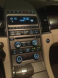 2012 sel dash kit manual climate controls taurus car club of