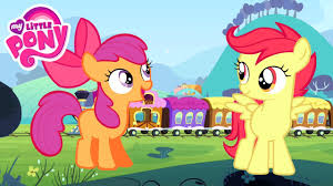 my little pony color swap scootaloo apple bloom transforms
