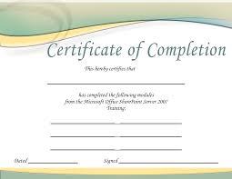 Free Online Certificate Template Free Online Training Certificate Ukrobstep Com