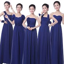 cheap royal blue bridesmaid dresses popular blue chiffon dress bridesmaid buy cheap blue chiffon dress