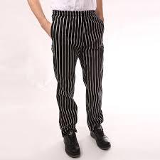 pantalon cuisine noir pantalon de cuisine é noir et blanc ceinture élastique ego chef