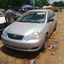 tokunbo toyota corolla manual drive n1 580 000 00 autos