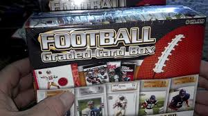 new 2013 nfl graded card box from target