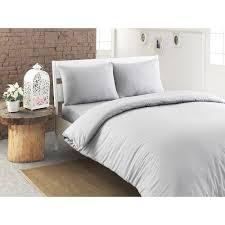 5 Piece Duvet Set Linum Towels Pera Luxury Solid 100 Percent Turkish Cotton 5