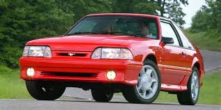 fox mustang pictures with the 1993 ford mustang cobra the aging fox kept kicking