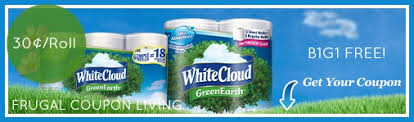 White Cloud Bathroom Tissue - white cloud bath tissue b1g1 free 30 per roll at walmart