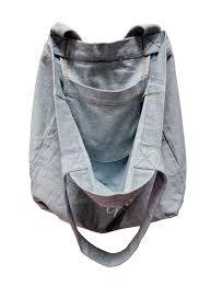 bag with light inside in the soulshine vegan vibes light denim tote bag cruelty free