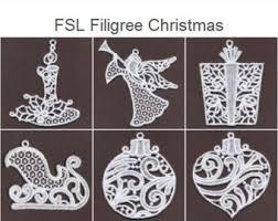 fsl filigree ornament free standing lace machine
