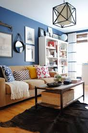 Brown And Blue Living Room by Astonishing Blue Living Room Ideas Grey Dark Blue Wall Color White