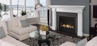 Gas Fireplace Mantle by Heatilator Eclipse Gas Fireplace Series