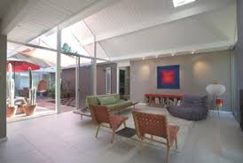 modern homes interiors décor at the eichler network