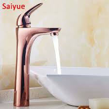 3 Way Kitchen Faucet German Faucet Aqua Faucet Cold Water Aliexpress Com Buy Long Simple Rose Gold Single Handle