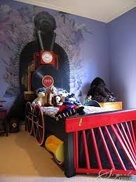 train themed bedroom railroad crossing sign i think can pinterest room train