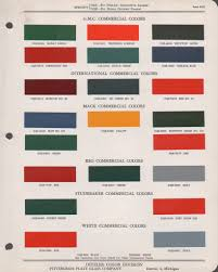 paint chips 1946 mack truck fleet commercial