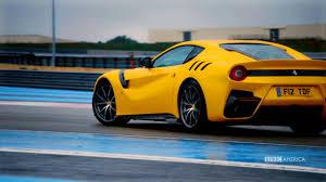 Ferrari F12 America - chris harris reviews the ferrari f12 tdf top gear youtube