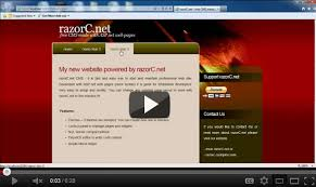 templates for asp net web pages razorc net free cms made with asp net web pages and webmatrix