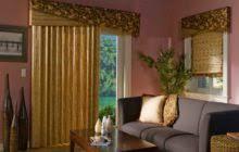 Pinch Pleat Patio Door Panel Modern Cream Satin Patio Door Curtain With Pinch Pleat Ring Of