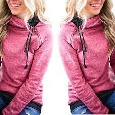 popular ladies hooded sweatshirt buy cheap ladies hooded