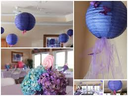 purple baby shower decorations photo purple baby shower table image