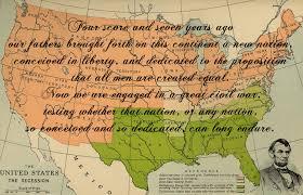 Gettysburg Map Abraham Lincoln Gettysburg Address Civil War Map