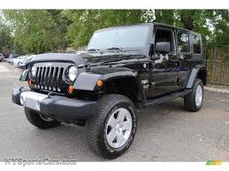 black jeep wrangler unlimited 2008 jeep wrangler unlimited sahara 4x4 in black 501441