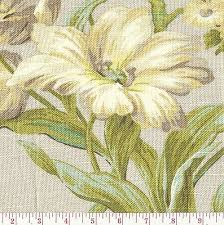 Waverly Upholstery Fabric Waverly Gray Yellow Green Floral Print Upholstery Fabric Isarda