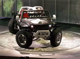 futuristic jeep jeep hurricane concept 2005 pictures information u0026 specs