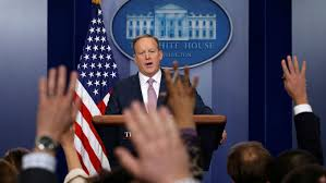sean spicer on camera press briefing when it is and how to watch