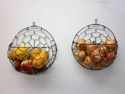 wall fruit basket creative idea of wall mounted fruit basket homesfeed