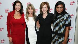 barbi benton family mindy kaling anne sweeney bonnie hammer open up about obstacles