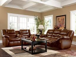 Faux Leather Paint - living room paint color ideas for living room with brown couch