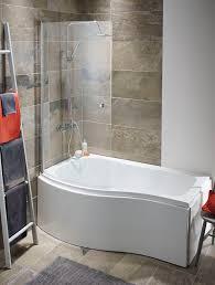 elgin 1500mm p shaperd bath shower screen and panels alliance