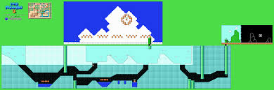 Super Mario World Level Maps by Revned U0027s Video Game Maps Super Mario Bros 3