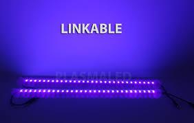led strip lights linkable led tube light 50cm aluminum strip light power 4 colors sl