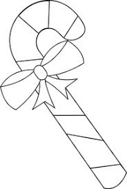 free candy cane clip art image candy cane coloring page with bow