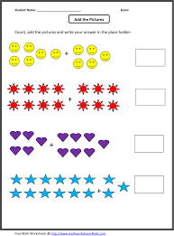 picture addition worksheet free worksheets library download and