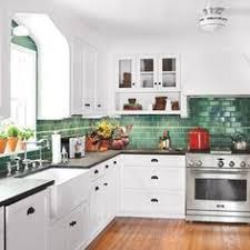 Kitchen Backsplash Ideas Pictures by Vintage Kitchen Cabinets And Tile Backsplash And Countertop