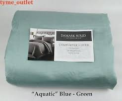 Duvet Club Nyc Charter Club Damask Stripe Duvet Cover Queen Tahari Home Grey Blue