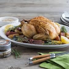 roast chicken with wildfire smoked sea salt recipe saltworks