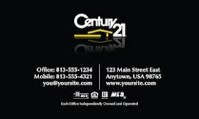 Century 21 Business Cards Century 21 Business Cards Online Design And Printing Services