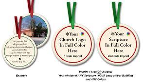 custom ceramic ornaments volunteer gifts