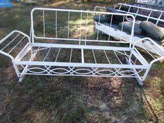Metal Patio Furniture by J R Bunting Sleeper Glider U2014 Vintage Metal Furniture Vintage