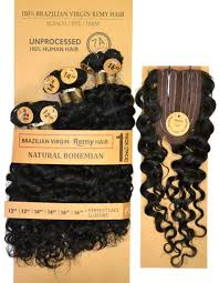 Natural Virgin Hair Extensions by Laflare 100 Unprocessed Brazilian Virgin Remy Hair Weave 7 Pcs 1